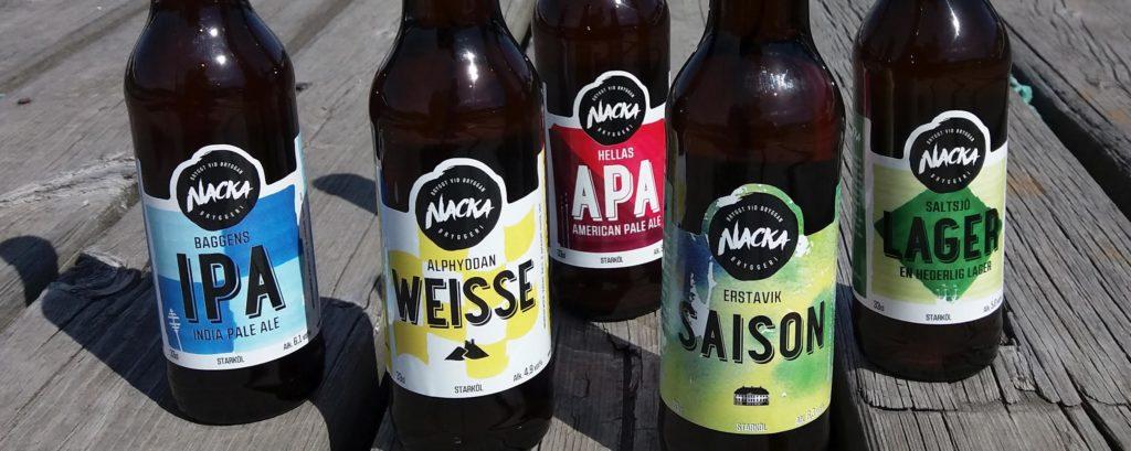 Fem sorters öl